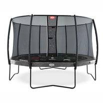 Trampoline BERG Elite Grey 430 Tattoo + Safety Net Deluxe