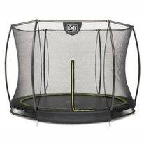 Trampoline EXIT Toys Inground Silhouette 244 Safetynet