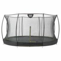 Trampoline EXIT Toys Inground Silhouette 366 Safetynet