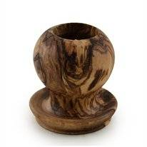 Pincho Holder Bowls and Dishes Brown Round