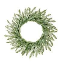 Kerstkrans Black Box Trees Brewer Wreath Green Frosted 60 cm