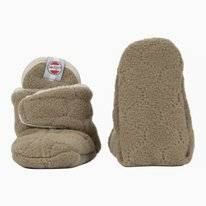 Babysloffen Lodger Slipper Fleece Botanimal Nutty
