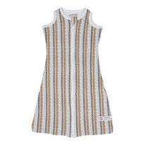 Babyslaapzak Lodger Hopper Sleeveless Stripe Xandu Honey