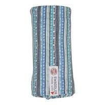 Multidoek Lodger Swaddler Stripe Xandu Dusty Turquoise