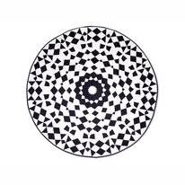 Roundie Dreamhouse Retro Flower White