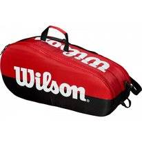 Tennistas Wilson Team 2 Compartment Black Red