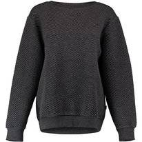 Trui O'Neill Women Quilted Crew Sweatshirt Dark Grey Melee