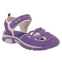 Sandale Regatta Girls Boardwalk Sandals Purple Iris