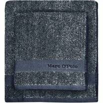 Serviette de Toilette Marc O'Polo Melange Marine Light Silver