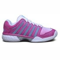 Tennisschuhe K Swiss Women Hypercourt Exp Hb White Very Berry Bachelor Button Damen
