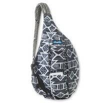 Schultertasche KAVU Rope Sling Carbon Tribal