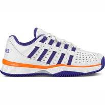 Tennisschuhe K Swiss Women Hypermatch HB White Purple Orange