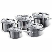 Pan Set Le Creuset Magnetik Stainless Steel