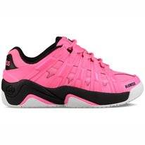 K Swiss Women Endorsement Neon Pink Black White