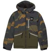 Ski Jas O'Neill Boys Textured Jacket Green Aop