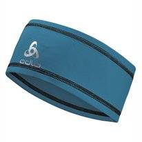 Stirnband Odlo Headband Polyknit Light Mykonos Blue