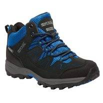 Wanderschuh Regatta Holcombe Mid Black Blue Kinder