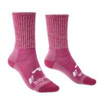 Chaussette Bridgedale Junior Hike All Season Merino Comfort Pink