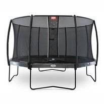 Trampoline BERG Elite Grey 430 Levels + Safety Net Deluxe