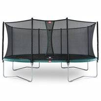 Trampoline BERG Grand Favorit Green 520 + Safety Net Comfort