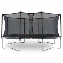 Trampoline BERG Grand Favorit Grey 520 + Safety Net Comfort