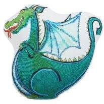 Sierkussen Beddinghouse Kids Dragon Groen
