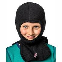 Cagoule Woolpower Kids 200 Pirate Black Large