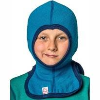 Balaclava Woolpower 200 Dolphine Blue Small Kinder