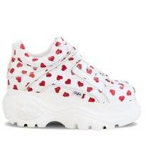 Buffalo 1339-14 2.0 White Red Hearts Nappa
