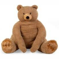 Knuffel Childhome Teddy Beer Groot Beige
