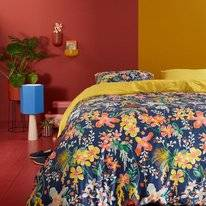 Dekbedovertrek Oilily Tropical Wall Multi Satijn