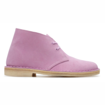 Clarks Originals Women Desert Boot Lavender Suede
