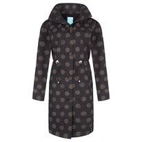 Regenjas Happy Rainy Days Coat Sandy Globe Black Safari