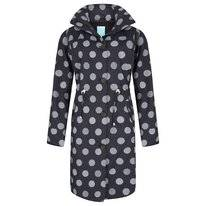 Regenjas Happy Rainy Days Coat Winny Globe Black Off White