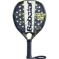 Padel Racket Babolat Counter Veron Black White Yellow