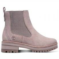 Timberland Women Courmayeur Valley Chelsea Taupe Gray
