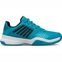 Tennis Shoes K-Swiss Junior Court Express Omni Algiers Blue Black White