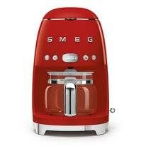 Filterkoffiemachine Smeg DCF02 50 Style Rood