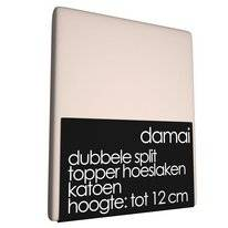 Drap-housse Double Split Surmatelas 12 cm Damai Dust (Coton)