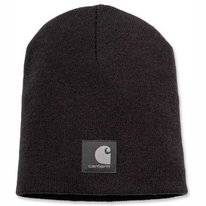 Muts Carhartt Men Force Extremes Knit Hat Black