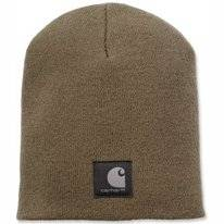 Muts Carhartt Men Force Extremes Knit Hat Burnt Olive