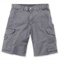 Werkshorts Carhartt Men Ripstop Work Short Gravel