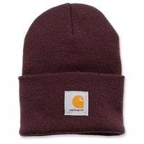 Mütze Carhartt Acrylic Watch Hat Deep Wine Damen
