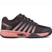 Tennisschuh K Swiss Express Light HB Plum Kitten Coral Almond Damen