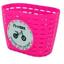 Fietsmand FirstBike Pink