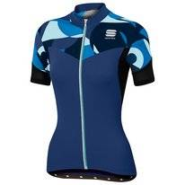 Fietsshirt Sportful Women Primavera Jersey Electric Blue