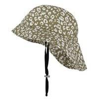 Vissershoed Happy Rainy Days Fisherman'S Hat Sophie Cheetah Sage Off White