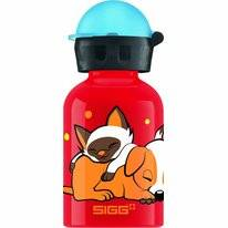 Trinkbecher Sigg Dogs Love Cats Clear 0,3L