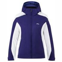 Ski Jas KJUS Girls Formula Jacket Into The Blue White