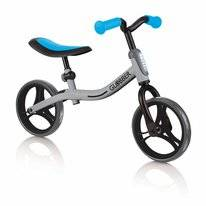 Loopfiets Globber Go Bike Silver Blue